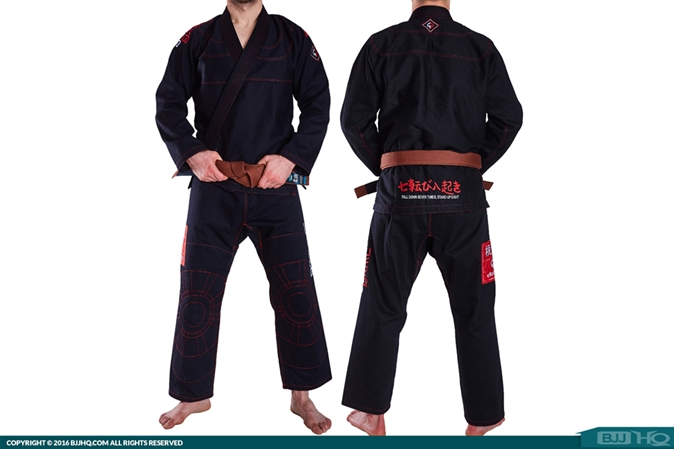 Ground Game Konki Black Gi